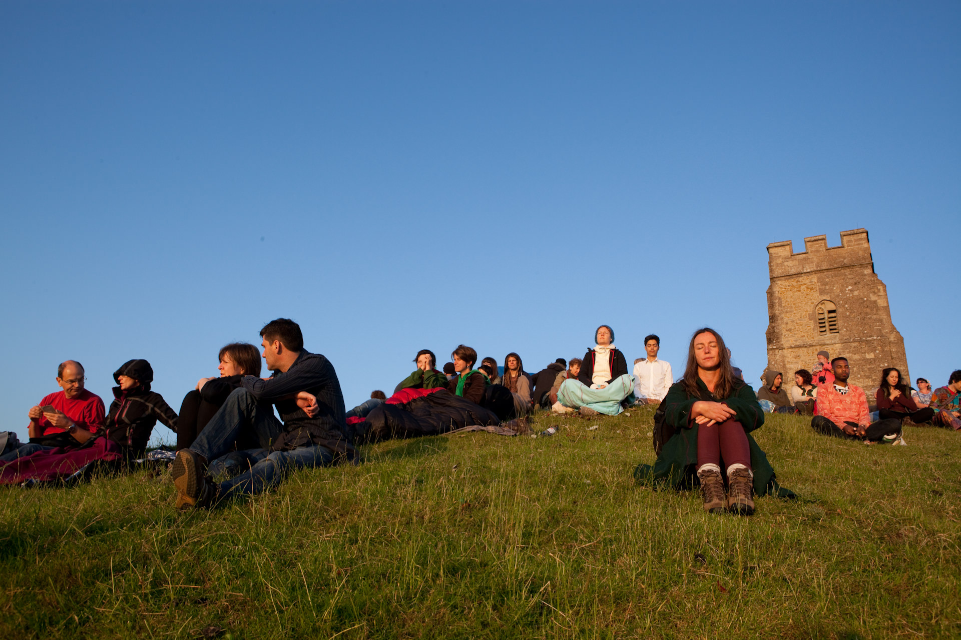 Glastonbury Tor Summer Solstice