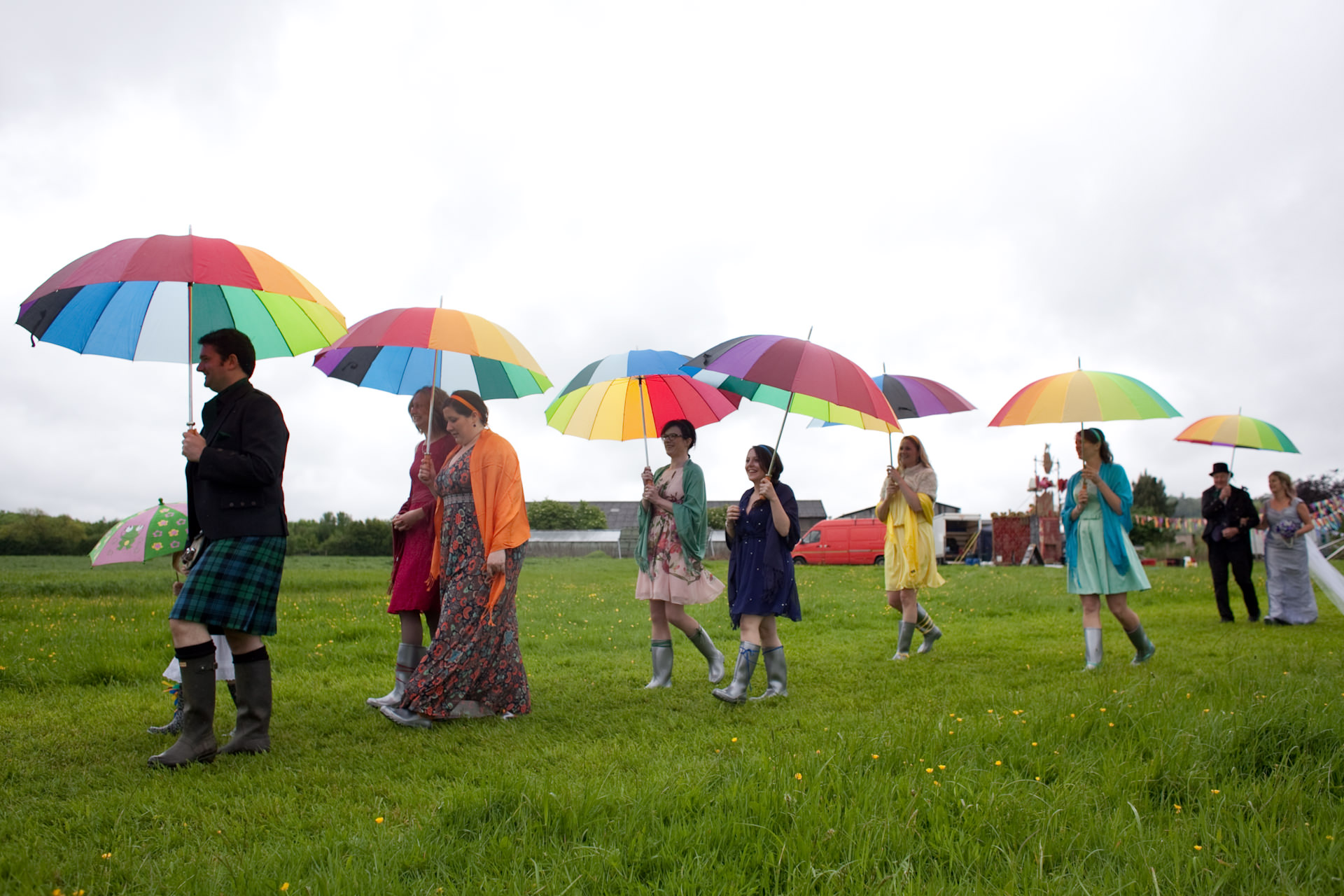 Glastonbury Farm Wedding