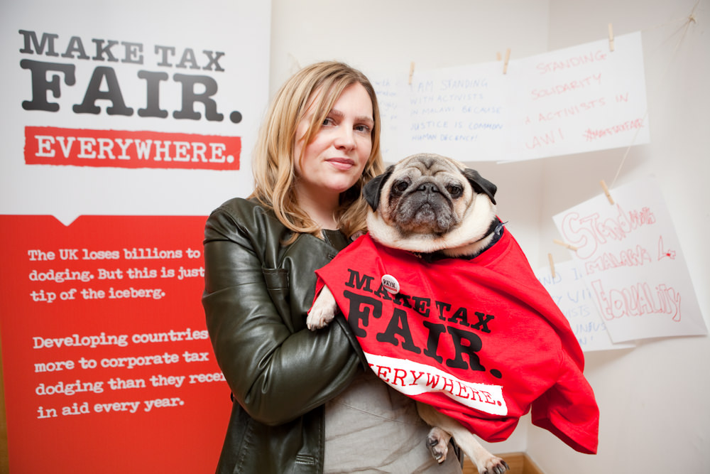 6th February 2016. Actionaid Campaigners Conference. Resource for London, 356 Holloway Road. N7 6PA. A day of solidarity and celebration with grassroots activists from developing countries. Louisa Newell and Morgan the dog.