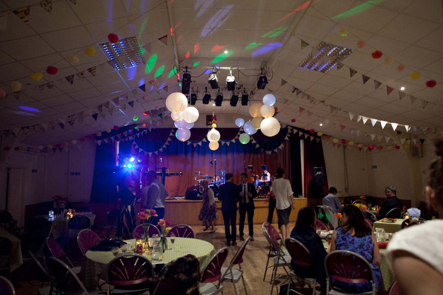 Anna and Keith, Crondall Village Hall. 14th May 2016.