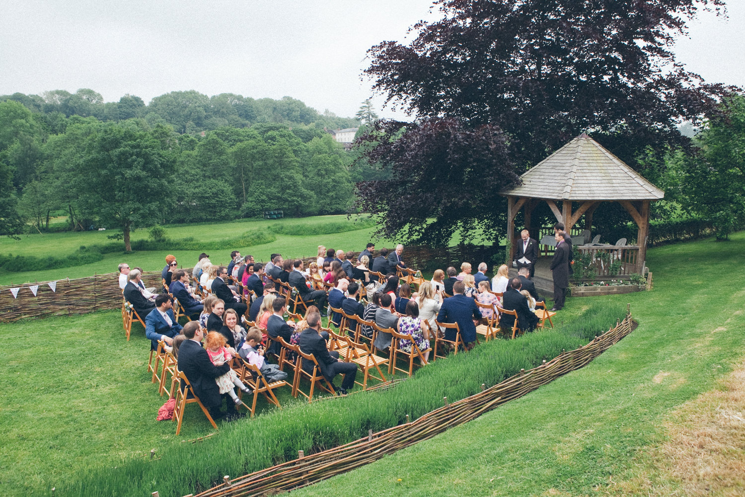 Annie & Phil's Somerset wedding at The Longhouse in Bruton, 4th June 2016.