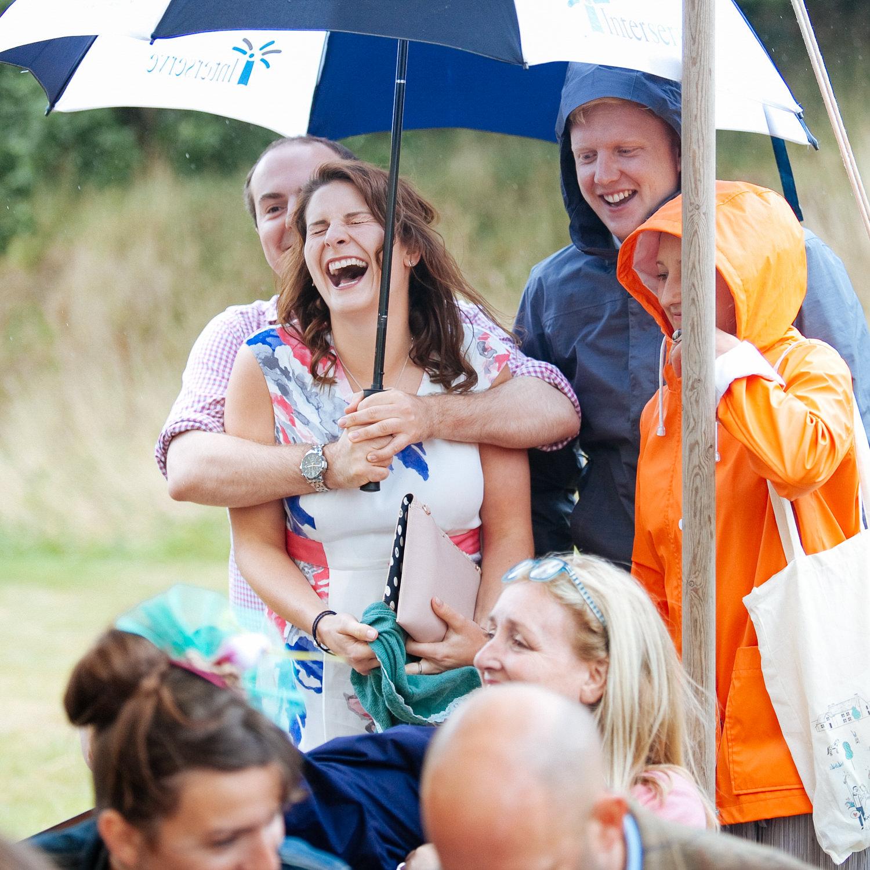 Lara & Atilla, 20th August At Burnicombe Farm in Devon.