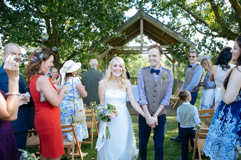 The Green Cornwall Wedding Photographer