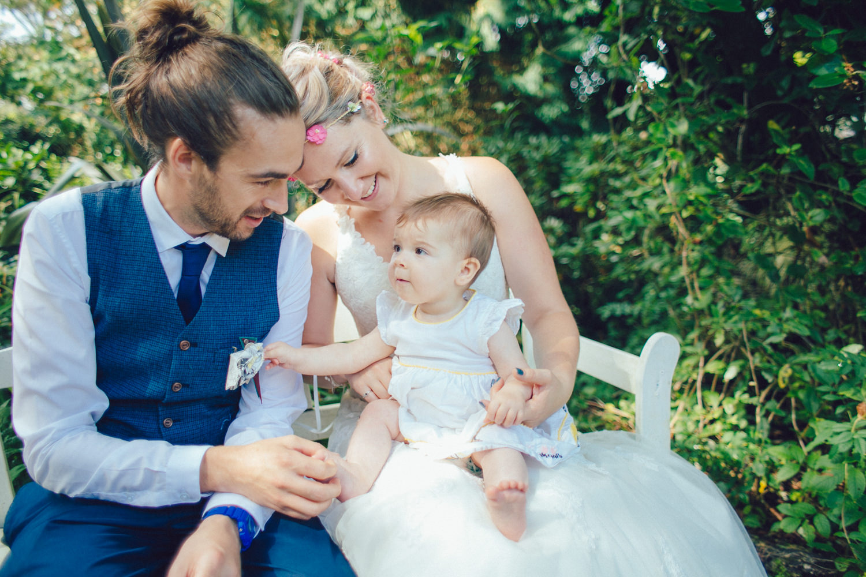 Breastfeeding Bride | Alternative Wedding Photographer