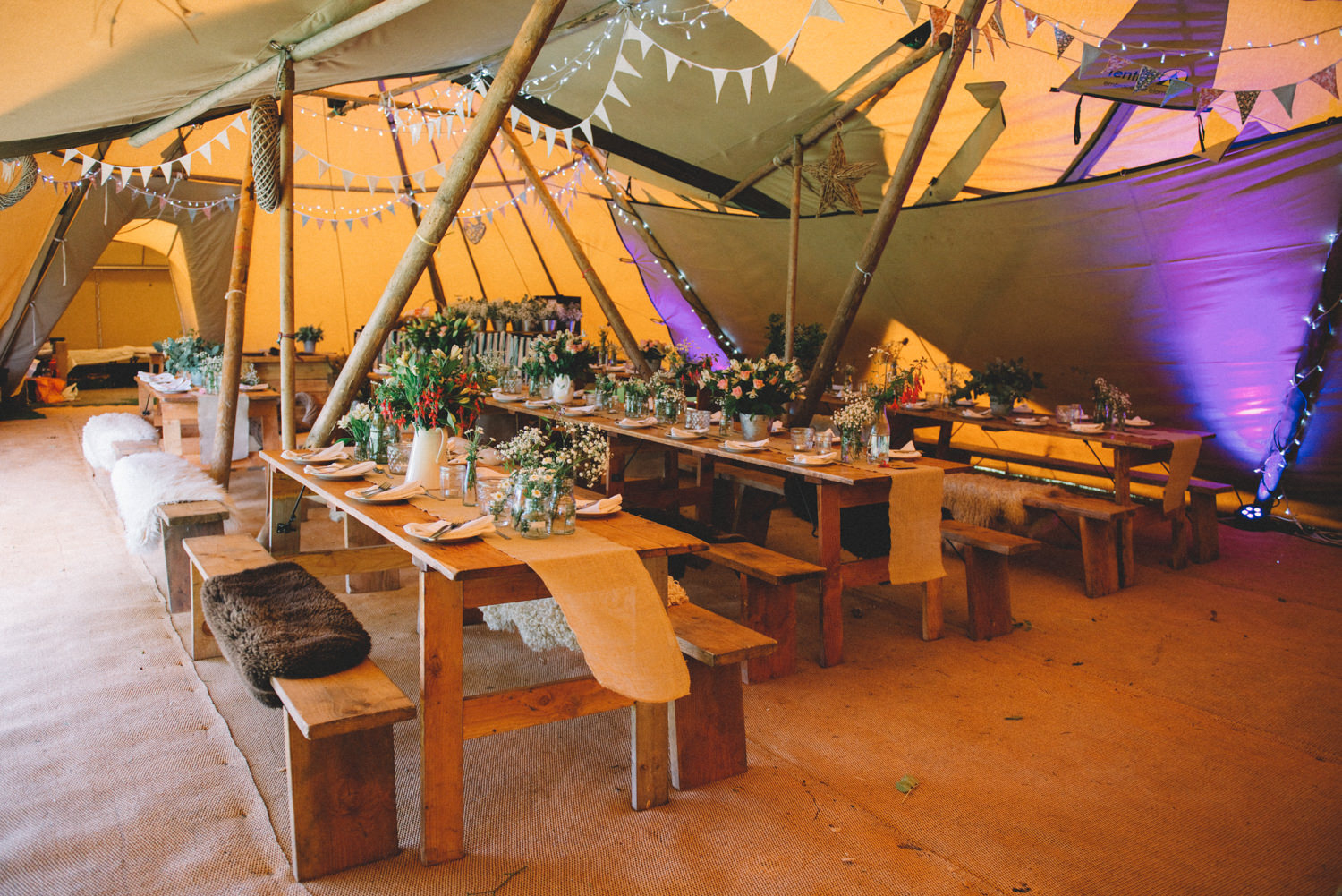 Burnicombe Farm Tipi Wedding