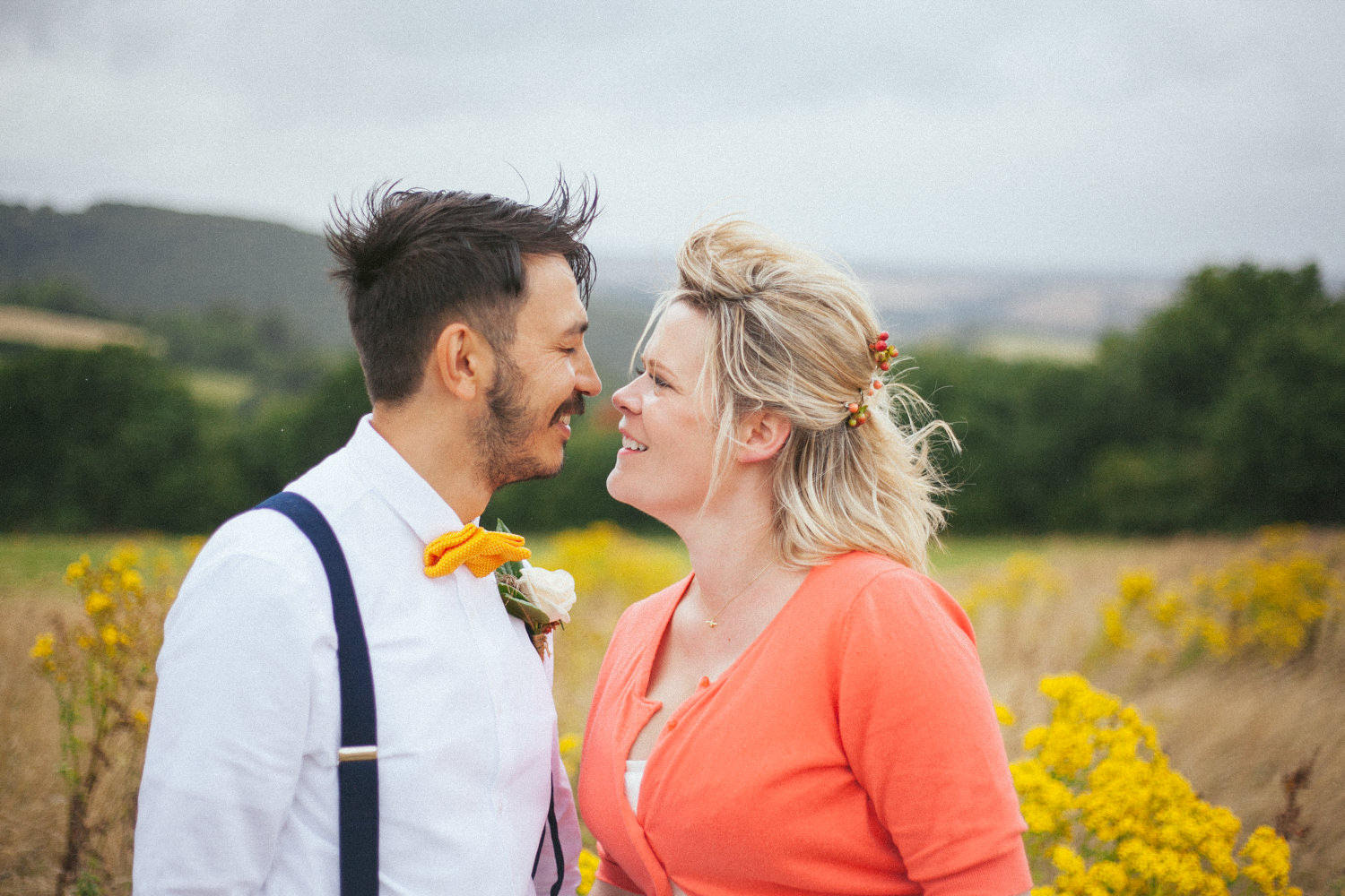 Burnicombe Farm Devon Wedding Photographer