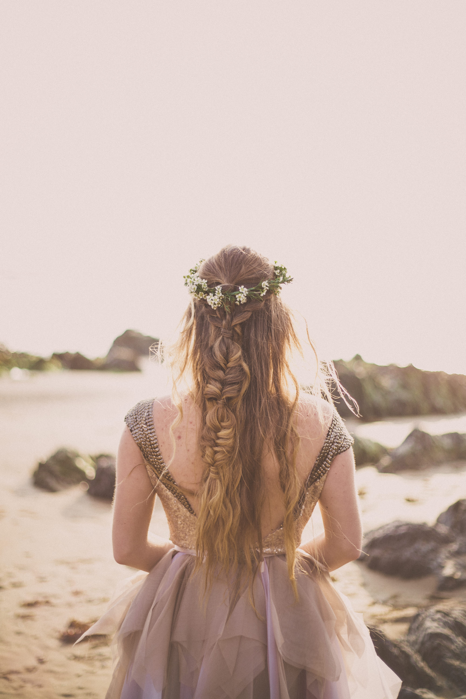 Surfer Bride | Beach Wedding Photography