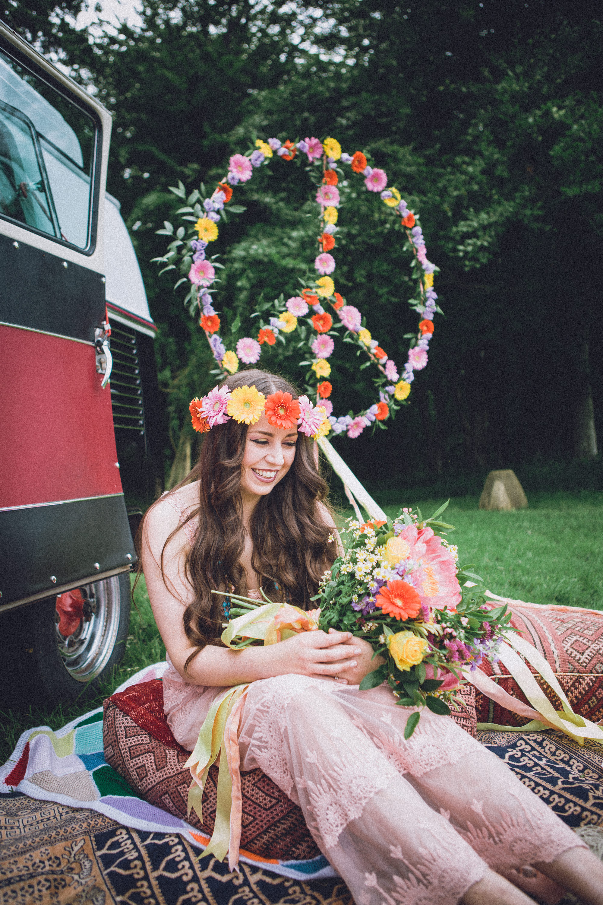 Summer of Love Inspiration | Huntstile Organic Farm