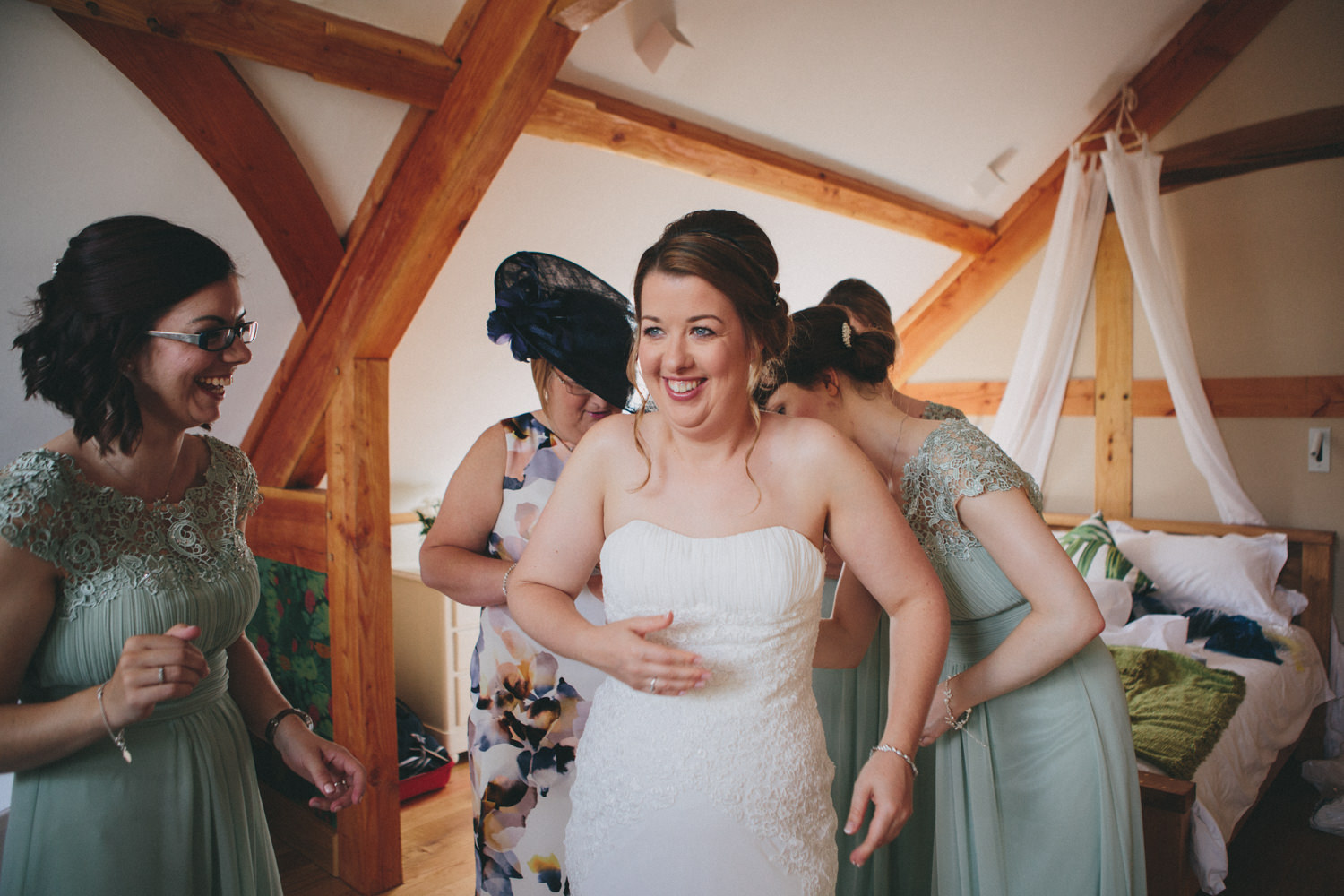 Oak Barn Devon Wedding Photography