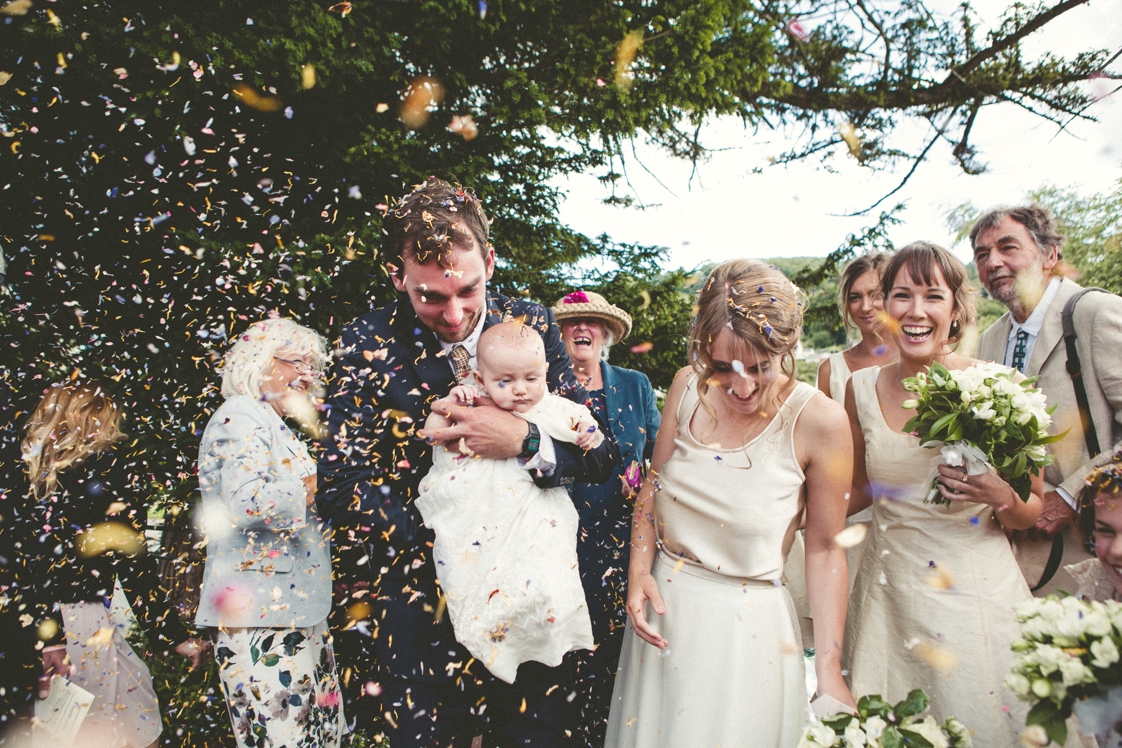 Naomi-Hamish Confetti Wedding