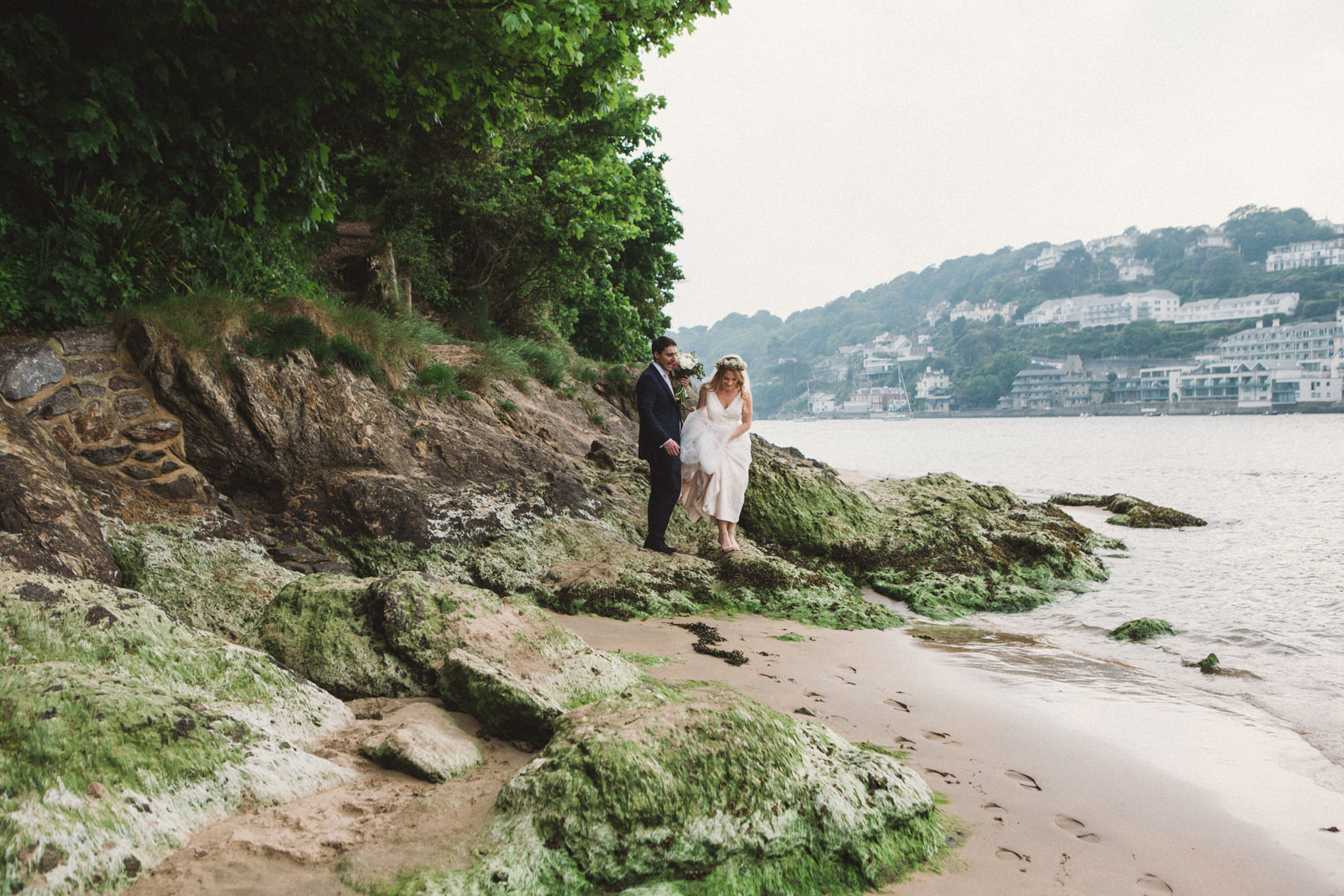 Cliff House Salcombe Wedding Photography