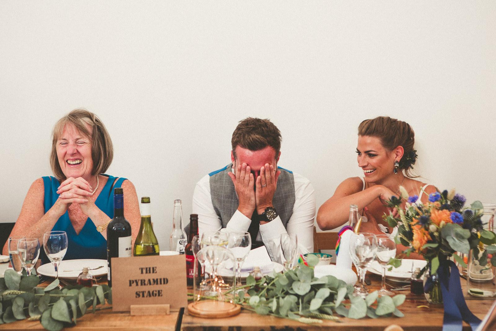 Devon Festival Wedding Photographer
