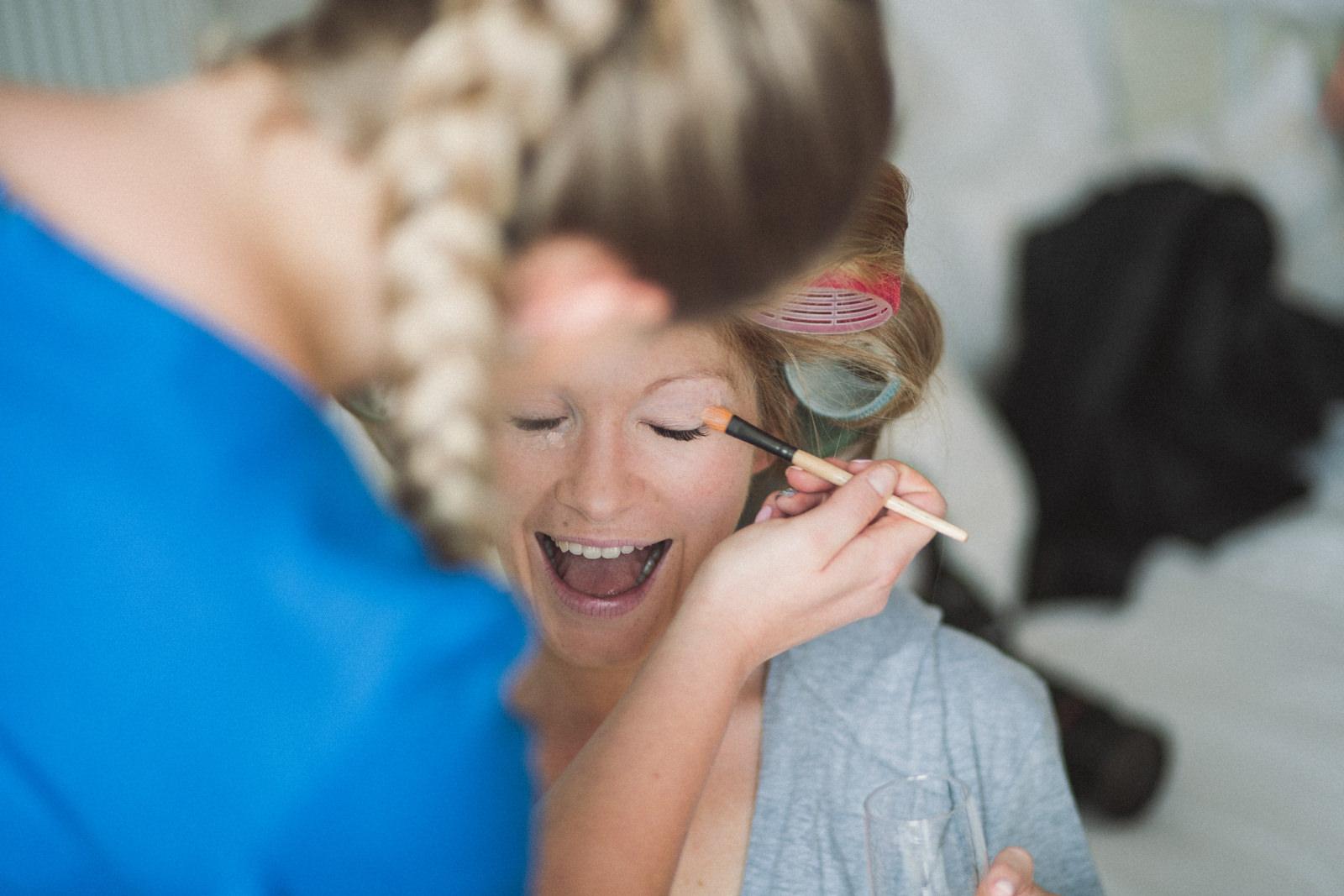 Wedding makeup Wedding Photography Devon