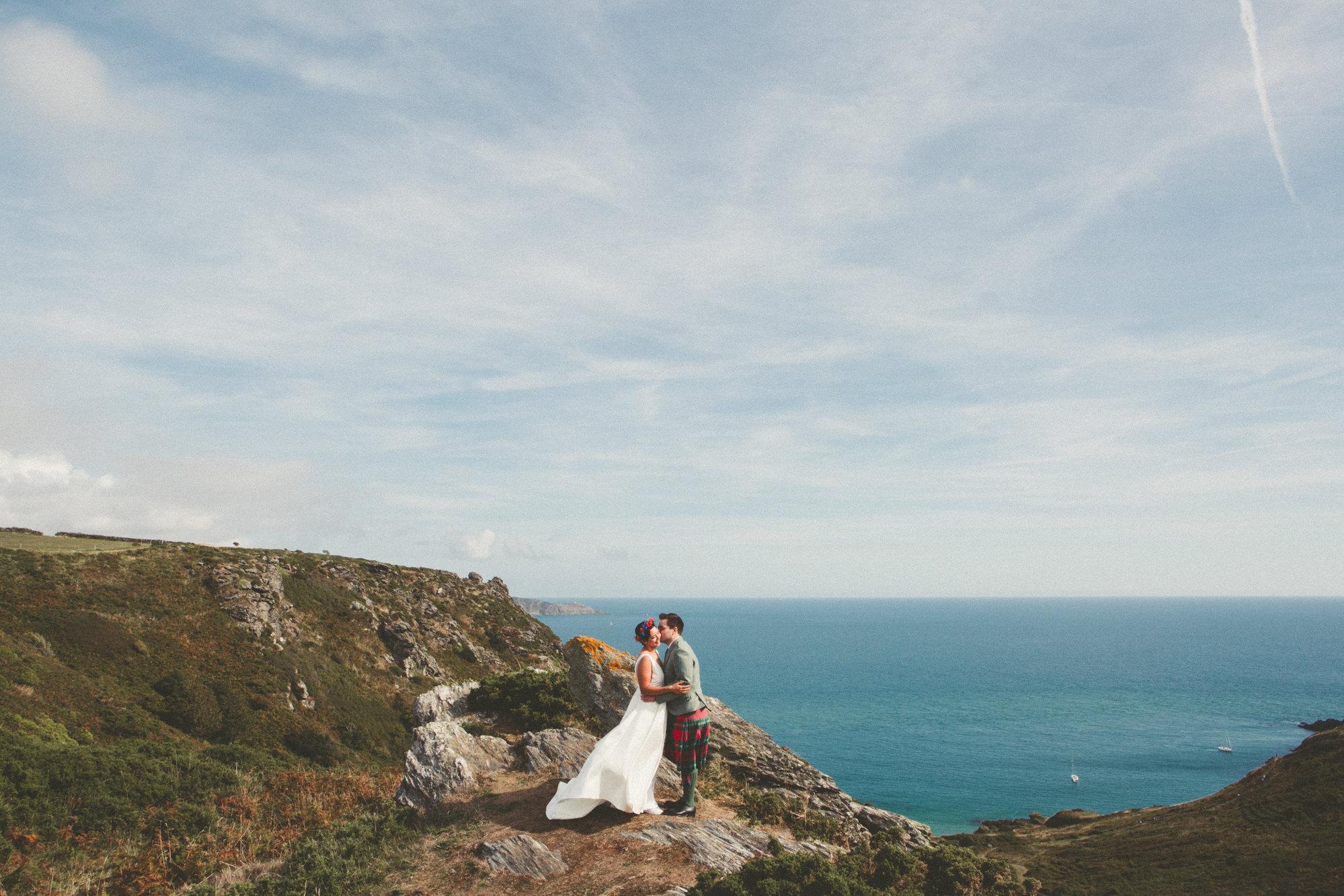 Kim & Pete Devon Wedding Photography