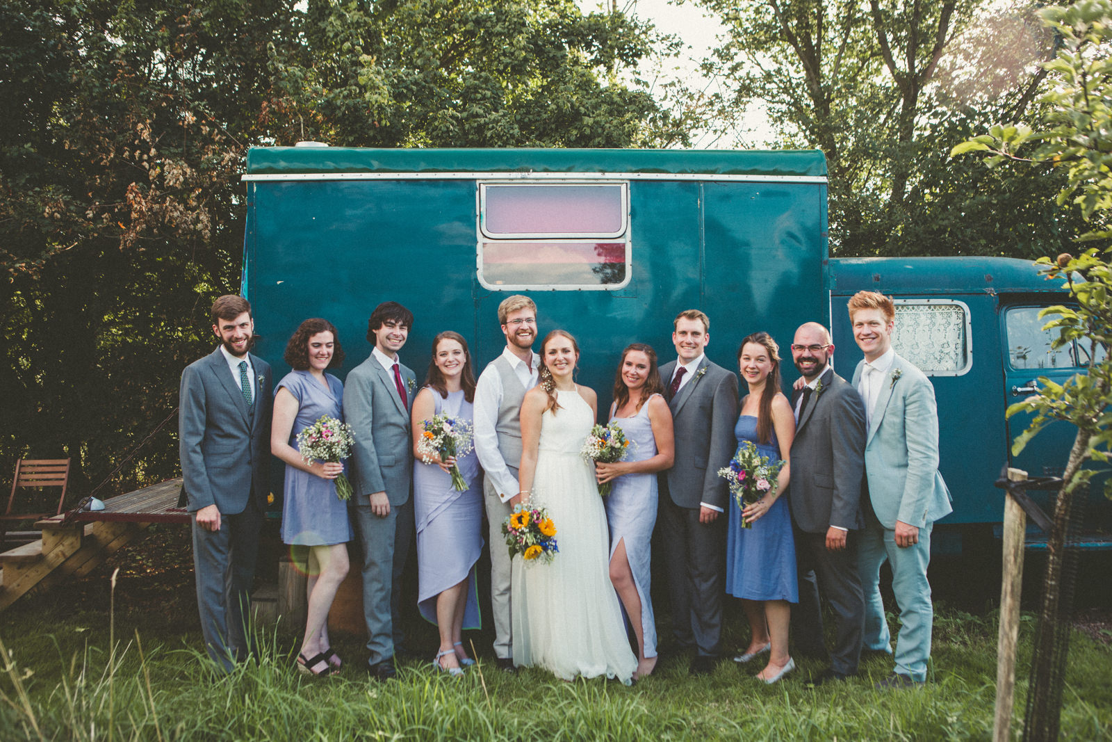 Group shot Devon Wedding Photography