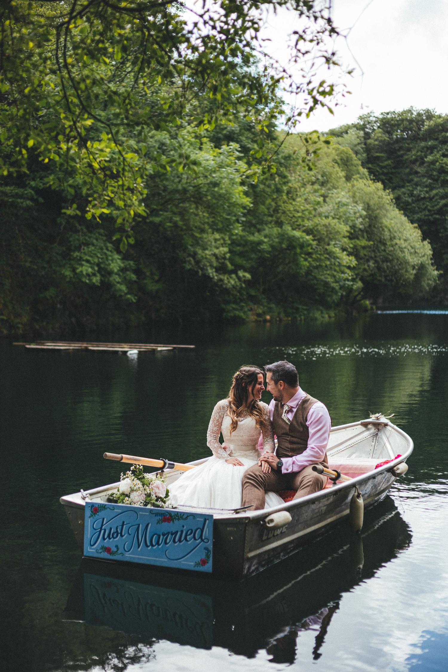 Cornish Tipi Wedding Photographer, Cornish Tipi Weddings, lake at Cornish Tipi Holidays, summer wedding, outdoor wedding, June wedding