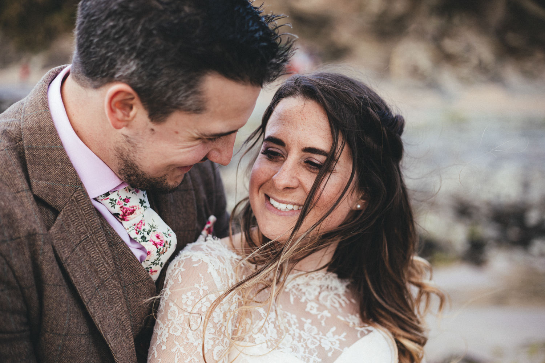 Beach wedding, beach wedding photography, Cornwall wedding, Cornwall wedding photographer, Daymer Bay
