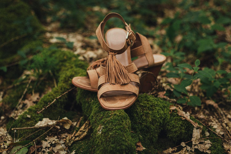 wedding shoes, woodland wedding, forest wedding, great wood camp, great wood camp wedding photography