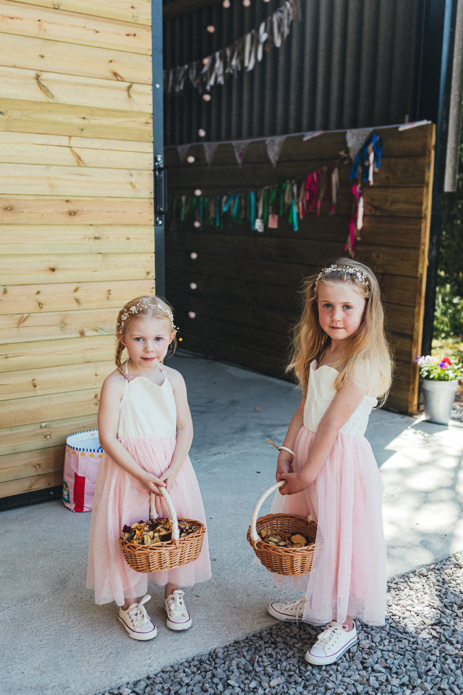 bridesmaids, boho wedding, Holsome Park Farm Wedding Photography, barn wedding