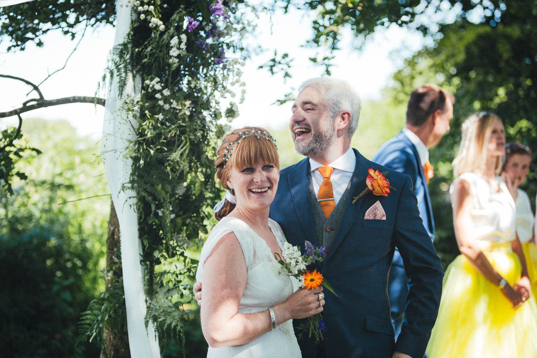 bride & groom, wedding ceremony, Holsome Park Wedding Photography
