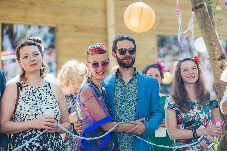 colourful wedding, festival wedding, Holsome Park Wedding Photography
