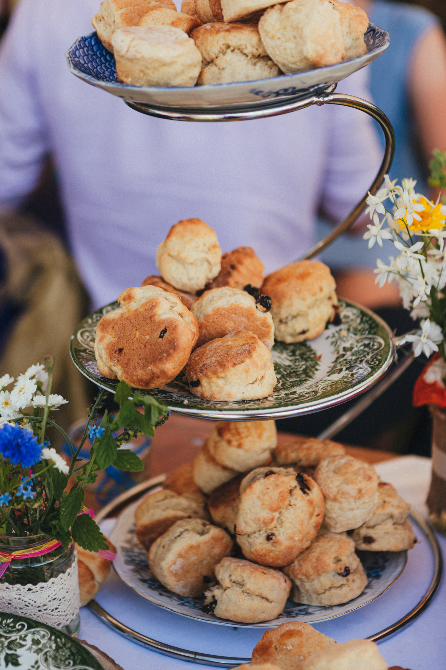 scones, wedding canapes