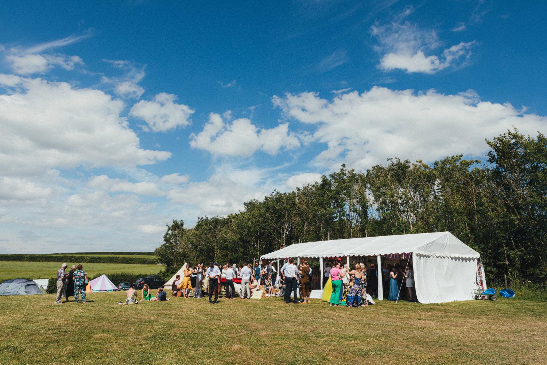 Holsome Park Wedding Photography, festival wedding, wedding guests, outdoor wedding, summer wedding