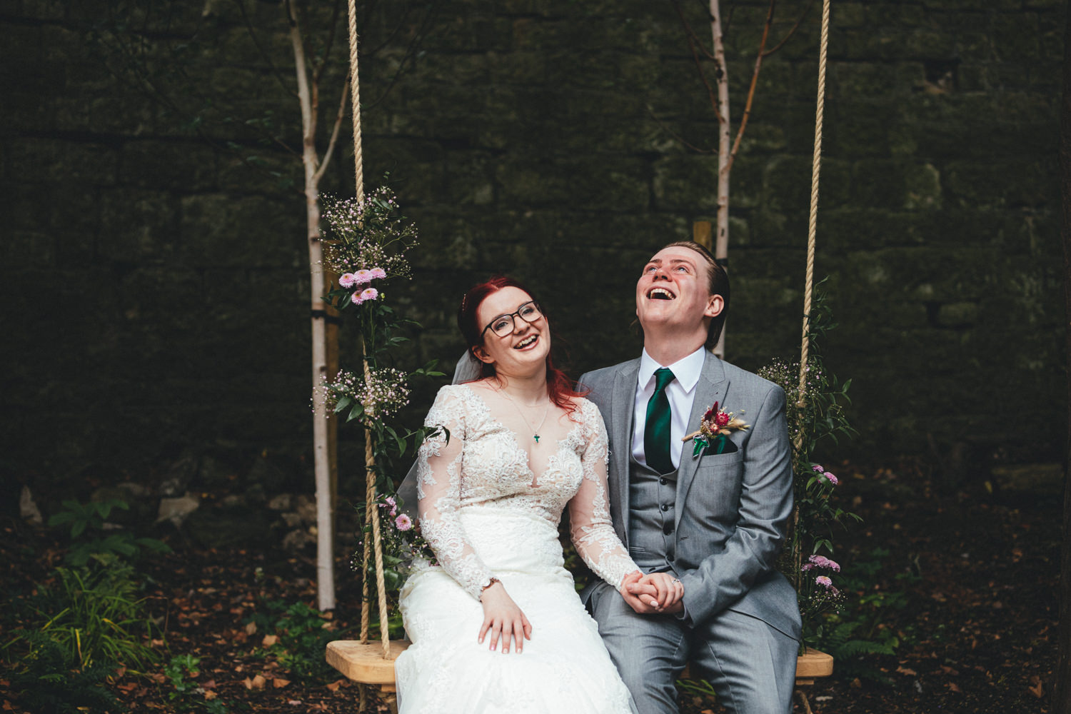 Quirky Woodland Wedding Photography