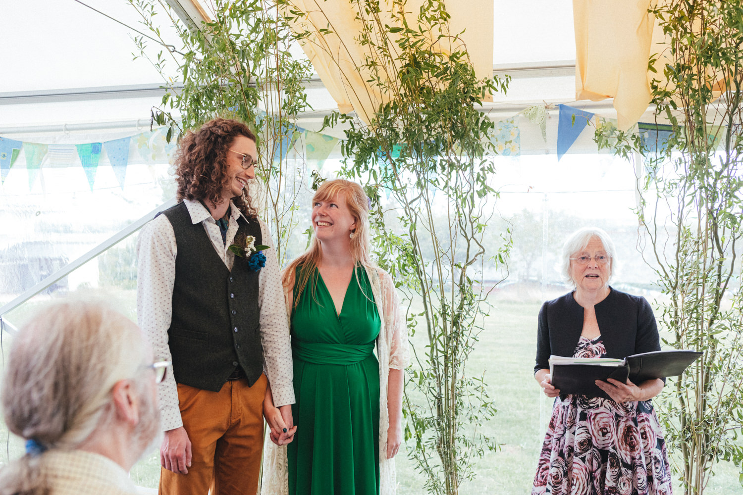 Outdoor Wedding Photography Devon, devon wedding, devon farm wedding, farm wedding photographer, devon wedding photographer, eco wedding, green wedding, green wedding dress, bride & groom, wedding ceremony, alternative wedding, relaxed wedding