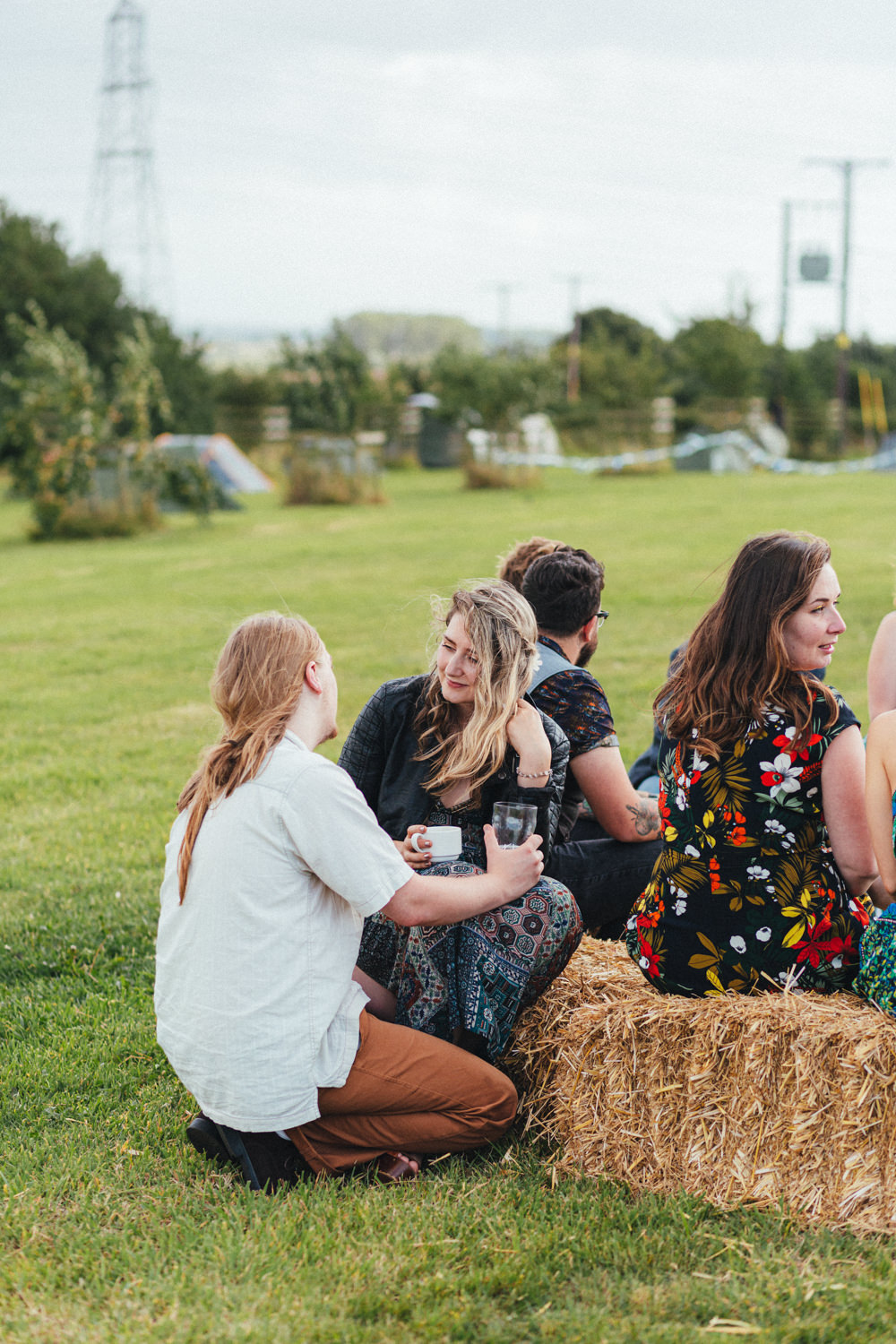 haybales, outdoor wedding photography, farm wedding, devon wedding, devon wedding photographer, alternative wedding, eco friendly wedding, green wedding